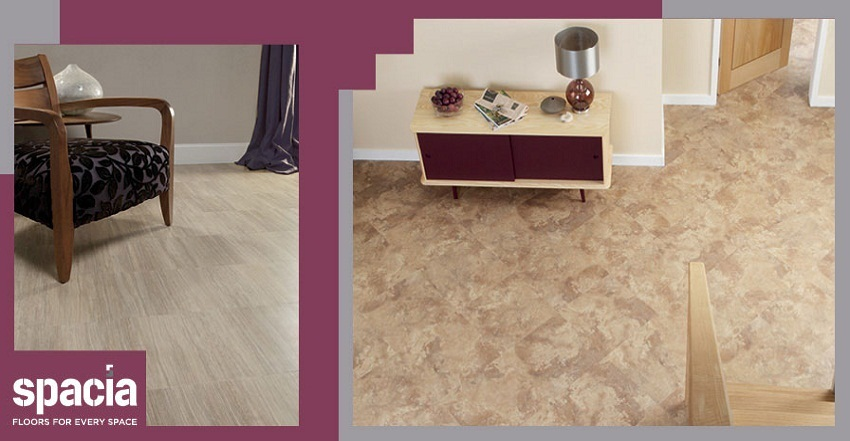 Spacia offers a range of 40 wood effect floors, each one aesthetically appealing, durable and easy to maintain.